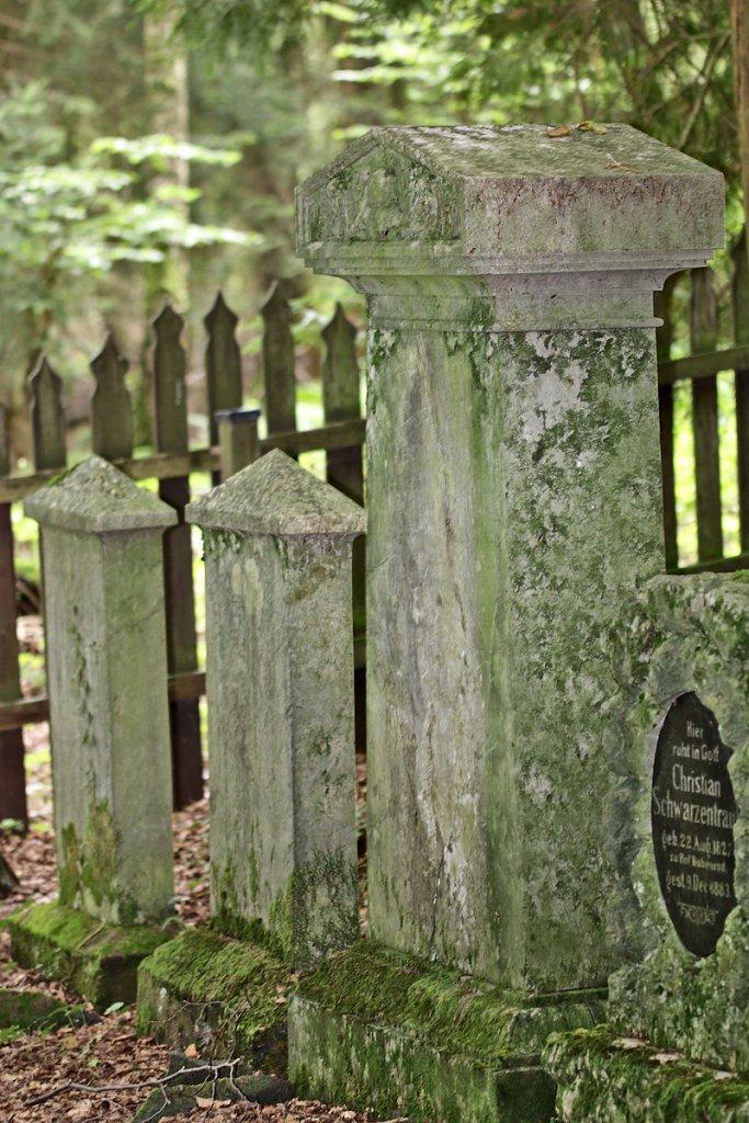Die alten Grabsteine